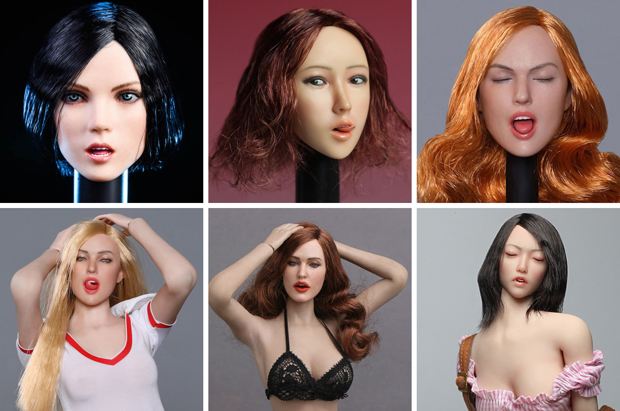 female-expression-heads