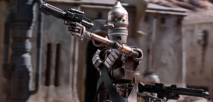 Image result for the mandalorian ig-11