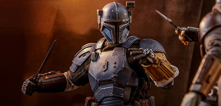 Blue Star Blade Reviews >> Hot Toys: Heavy Infantry Mandalorian (The Mandalorian)