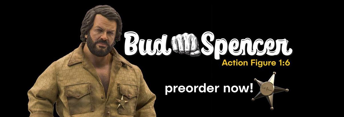 Kaustic Plastik & Infinite Statue: Bud Spencer – Out for Pre-Order