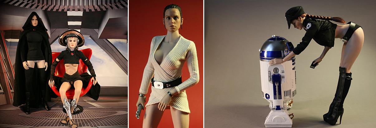 Forum: Foto des Monats August – Star Wars Pin-Ups